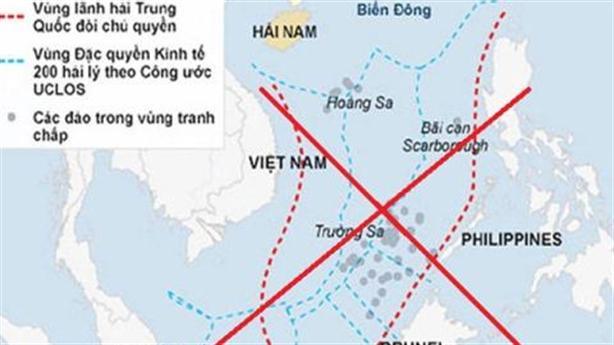 Các nước vạch trần lời nói dối của Trung Quốc trước PCA