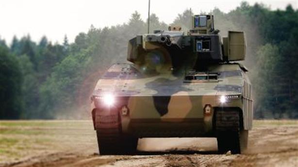 Đức khoe xe chiến đấu mới dùng vũ khí Israel