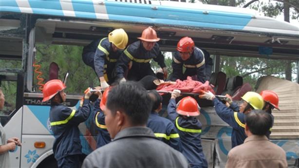 Tai nạn thảm khốc trên đèo Prenn: Đi chậm vẫn bị tông