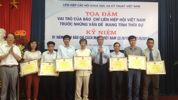 Liên Hiệp Hội kỷ niệm 91 năm ngày Báo chí Việt Nam
