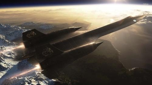 Clip SR-71 - Tiêm kích Mỹ bay nhanh hơn tên lửa