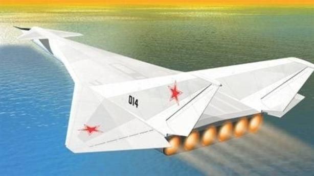 Tiêm kích thế hệ 6 Nga trang bị súng điện từ