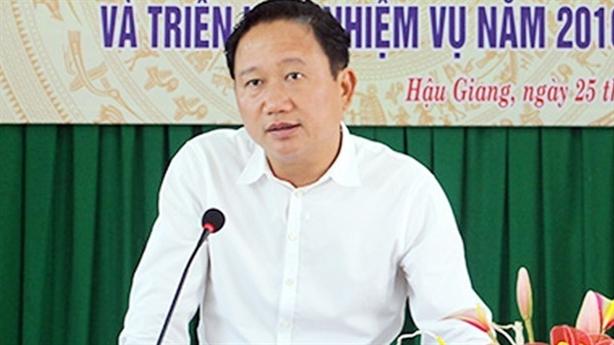 Ông Thanh có mặt nghe UBKT Trung ương công bố kết luận