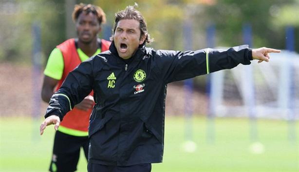 Tiếng hét của Antonio Conte trong buổi tập đầu ở Chelsea