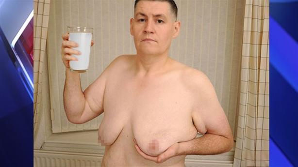 Người đàn ông tăng cỡ vòng ngực vì uống đậu nành?