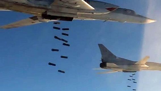 Đặc nhiệm Mỹ-Anh suýt chết vì Tu-22M3 Nga ném bom rải thảm