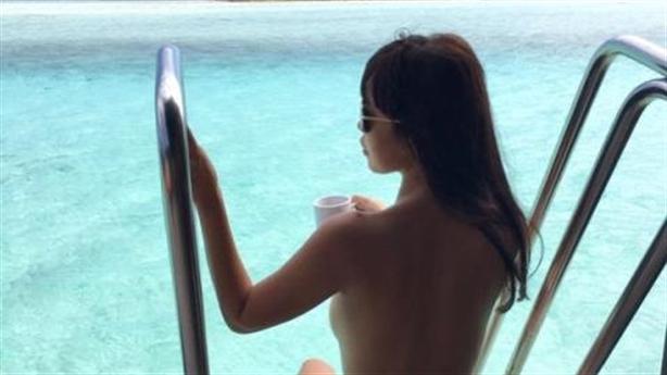 Hà Anh bán nude: Vì thiên nhiên hay đánh bóng tên tuổi?
