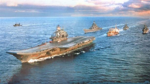 Cách bố trí đội tàu sân bay không giống ai của Nga