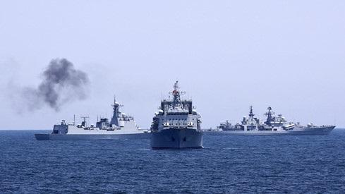Nga - Trung tập trận ở Biển Đông: Tướng Mỹ nói thẳng