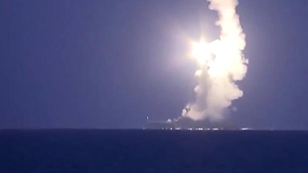 Chiến hạm Nga phóng Kalibr tấn công IS từ Địa Trung Hải