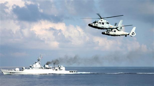 Trung Quốc tập trận, Nhật phản ứng nóng