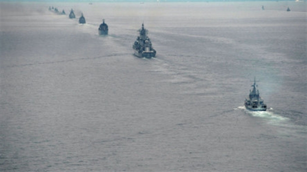 Nga-Trung thống nhất thời điểm tập trận trên Biển Đông