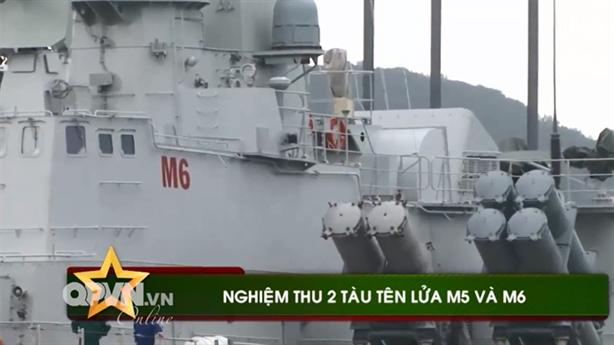 Hình ảnh nghiệm thu tàu tên lửa Molniya