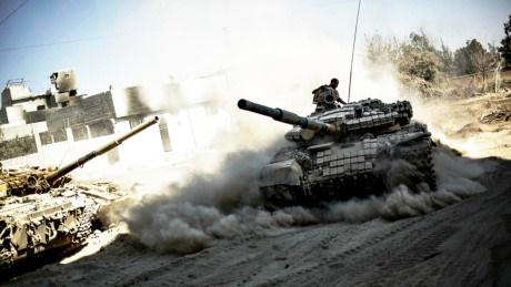 Dồn dập tấn công phiến quân ở nam Aleppo