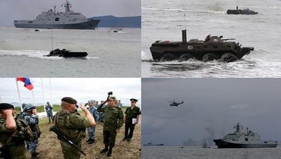 Nga-Trung sẽ tập trận đổ bộ, đánh chiếm đảo trên Biển Đông