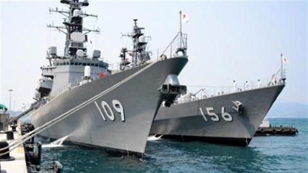 Cảng Cam Ranh đã đón 9 tàu quân sự