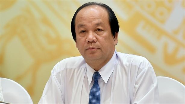 Bộ Nội vụ chưa có báo cáo vụ ông Trịnh Xuân Thanh
