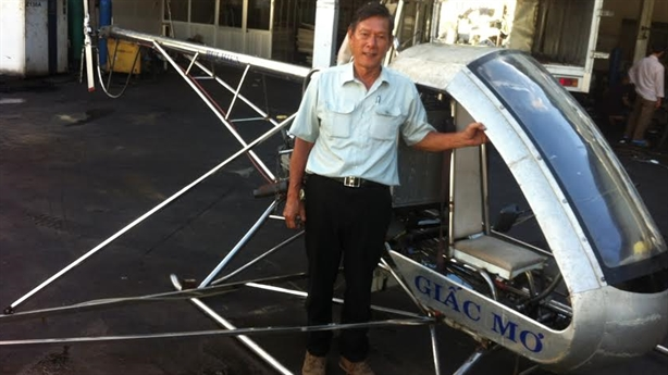 Quyết tâm mới của kỹ sư Việt thử thành công máy bay