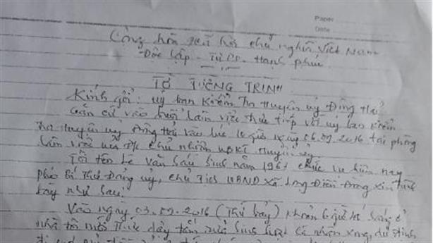 Vụ 'chủ tịch xã bị vợ đánh ghen': Bằng chứng ngoại phạm