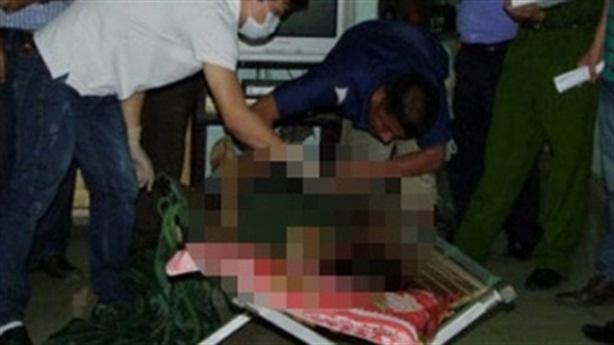 Bị chồng dọa giết, vợ dùng chày gỗ đập chồng tử vong