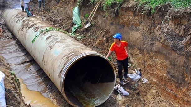 Vỡ ống nước sông Đà lần thứ 19