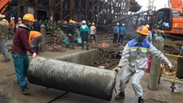 Bắt tàu hàng chở bùn thải từ Trung Quốc đưa vào Formosa