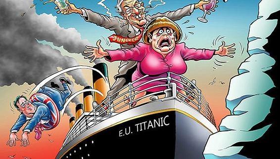 """EU có thể tan rã, rơi vào """"thùng rác của lịch sử""""?"""