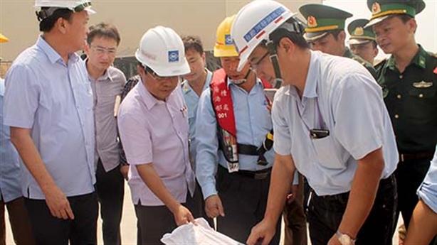 Chở bùn bôxít từ Trung Quốc vào Formosa: Không phải xin phép