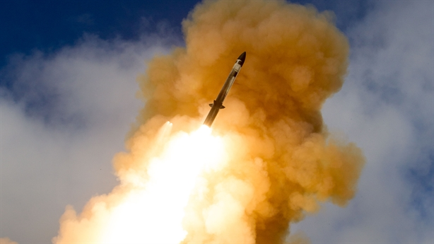 Mỹ - Nhật thử tên lửa có tầm bắn gấp đôi SM-3