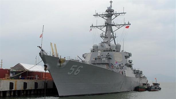 Lần đầu tiên chiến hạm Mỹ thăm Cam Ranh