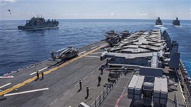 Mỹ tập trận trên biển Đông: Nhắc Nga và Trung Quốc?