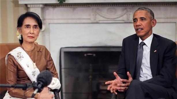 Dỡ bỏ cấm vận Myanmar, Washington qua mặt Bắc Kinh...