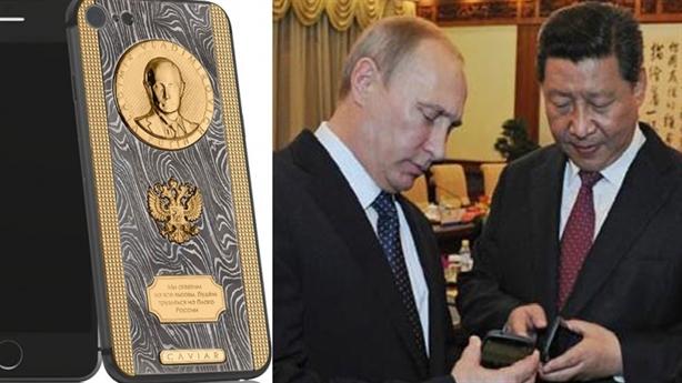 Putin nhận iPhone ái quốc, tặng Tập Cận Bình smartphone Nga