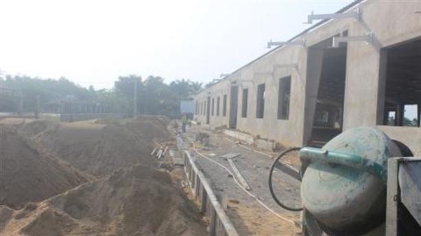 Nhà máy sản xuất bao bì xây trái phép tại Quảng Nam