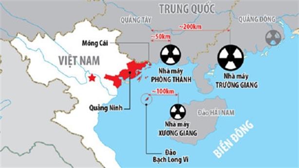 Điện hạt nhân Trung Quốc sát biên giới: Việt Nam lên tiếng