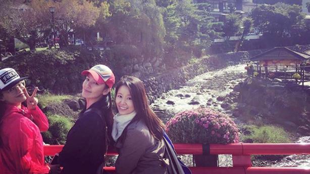 Lâm Tâm Như đi dưỡng thai cùng bạn, chồng cô ấy đâu?