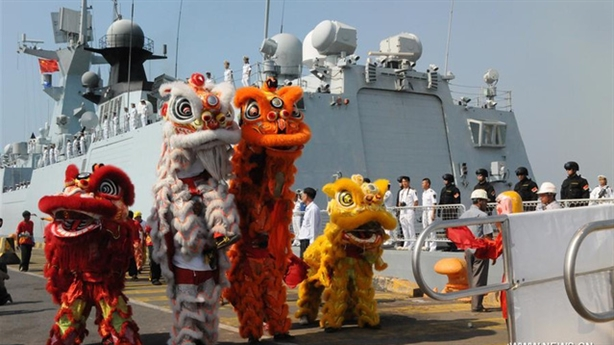 Đội chiến hạm mạnh nhất Trung Quốc đến Campuchia