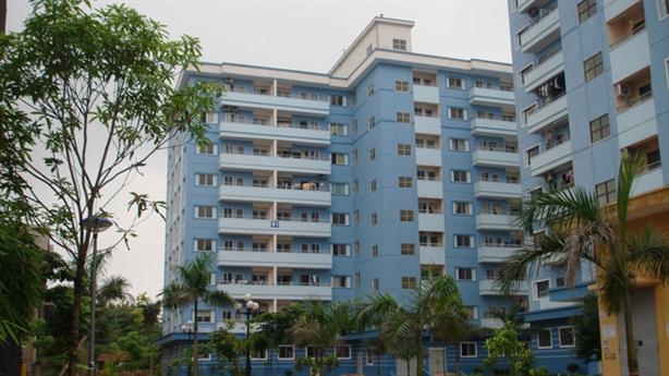 Đập thông căn hộ nhà ở xã hội là trái luật