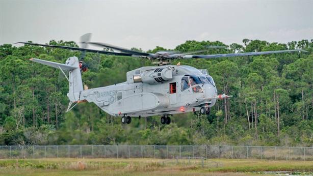 Trực thăng Mỹ khiến Mi-26 'hít khói'