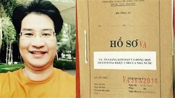 Thông tin mới vụ Giang Kim Đạt tham ô 255 tỷ đồng