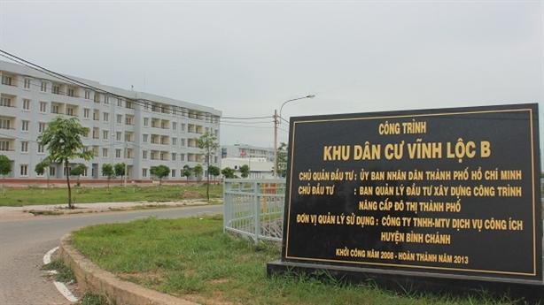 TP.HCM: Bố trí thêm dân tại khu TĐC Vĩnh Lộc B