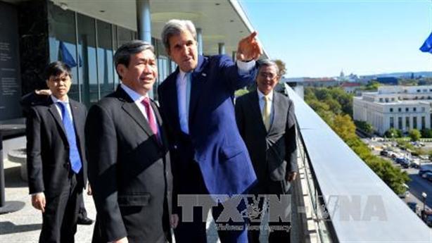 Việt Nam mong muốn Mỹ tăng cường hợp tác nhiều mặt