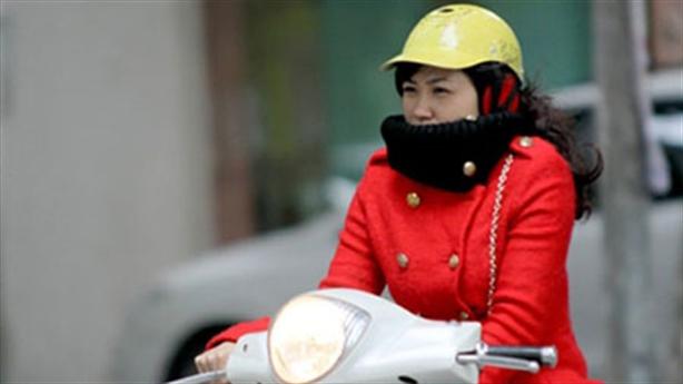 Miền Bắc sắp đón gió mùa Đông Bắc, Hà Nội trở rét