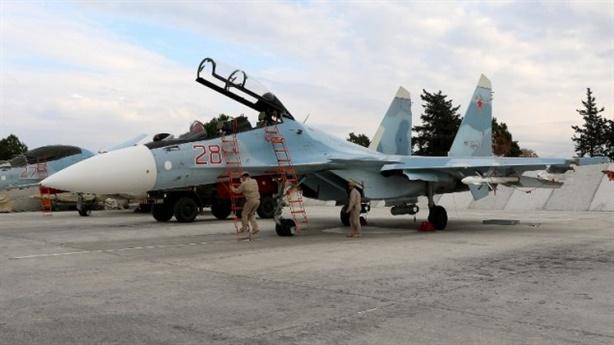Mỹ tố máy bay Nga áp sát chiến đấu cơ tại Syria