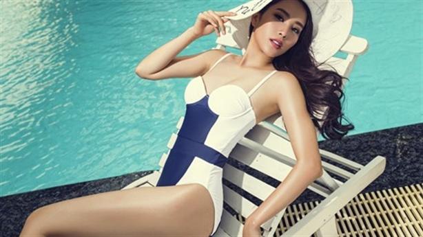 Ảnh nóng Nam Em lọt Top 8 Hoa hậu Trái đất