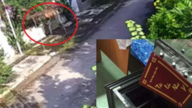 Clip nhân viên điện nước phá két nhà dân Đồng Nai