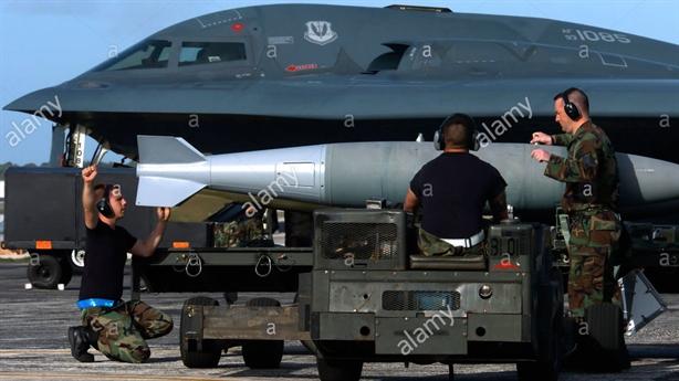 Mỹ cho B-2 mang vũ khí hạt nhân kỹ thuật số