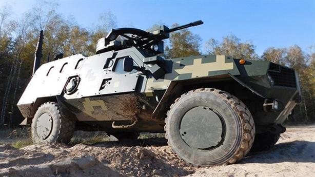 Ukraine khoe tài lắp vũ khí máy bay cho xe chiến đấu