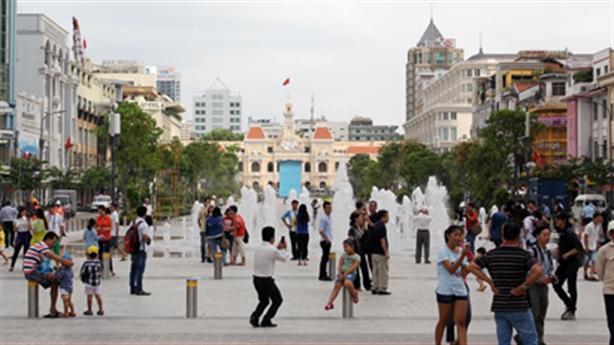 Đất phố đi bộ Nguyễn Huệ cao nhất 1,2 tỷ đồng/m2