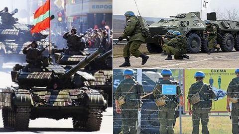 Moldova-Ukraine hợp lực đuổi quân Nga khỏi Pridnestrovie?